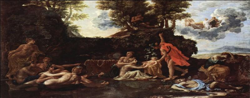Que célèbre Nicolas Poussin sur ce tableau ?
