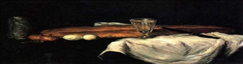 Il se prénomme Paul, est né à Aix-en-Provence, et a peint cette nature morte au pain et œufs. Retrouvez l'artiste.