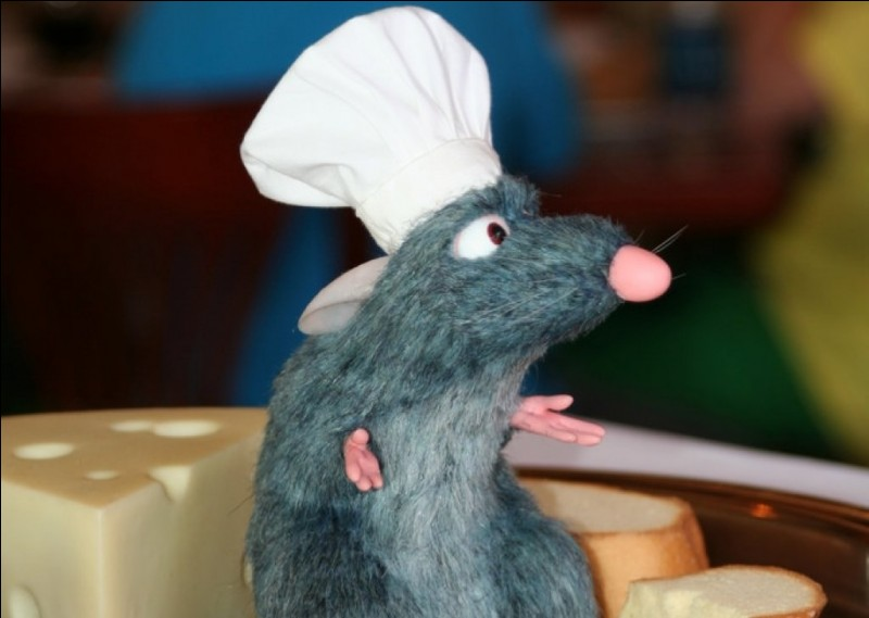 Quel est le nom du rat du film d'animation 'Ratatouille' ?