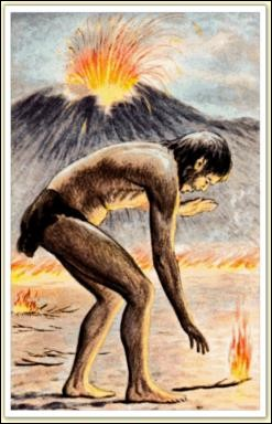 Vers quelle date les hommes découvrent-ils le feu ?