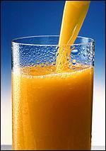 Comment dit-on 'jus d'orange' en anglais ?