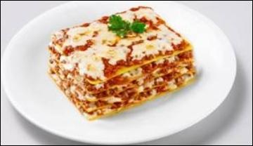 Comment dit-on 'des lasagnes' en anglais ?