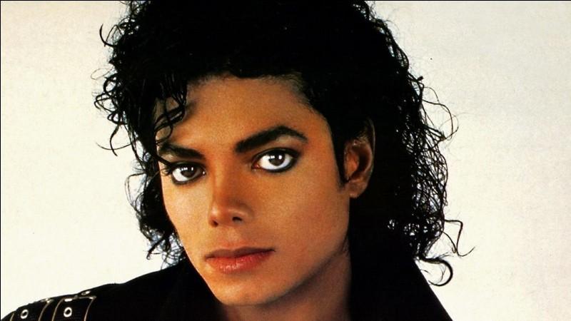 Enfin pour Michael Jackson, c'est 'Black or...'