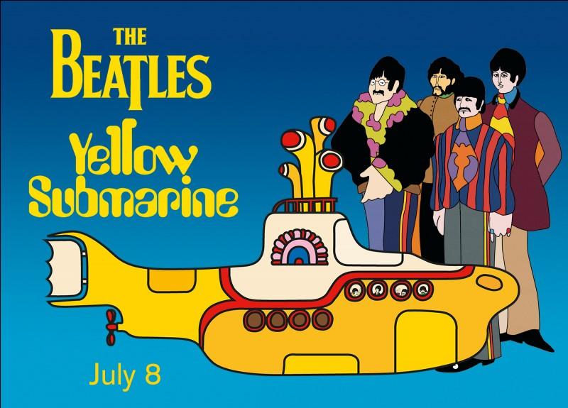 'Yellow Submarine' est une chanson des Beatles. De quelle couleur est devenu le sous-marin dans la version française ?