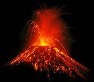 Lors d'une éruption volcanique, elle sort du cratère et coule sur les flancs du volcan. C'est...