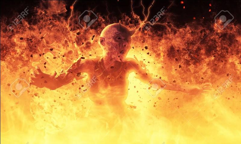 Imagine-toi dans l'histoire ci-dessous.Ton père est un démon et si tu ne le mets pas en enfer, il détruit ton monde. Que fais-tu ?