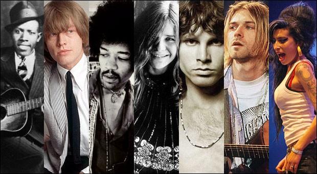 Ces artistes sont tous morts à 25 ans.