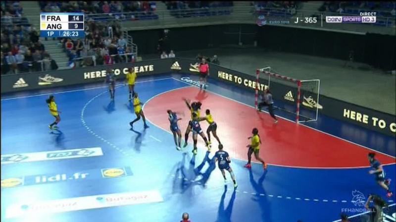 Combien de joueurs compte une équipe de handball sur le terrain ?
