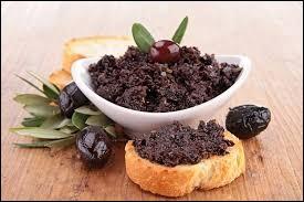 Olives noires, anchois, ail et huile d'olive. Quel ingrédient faut-il mixer avec ceux-ci pour obtenir une bonne tapenade ?