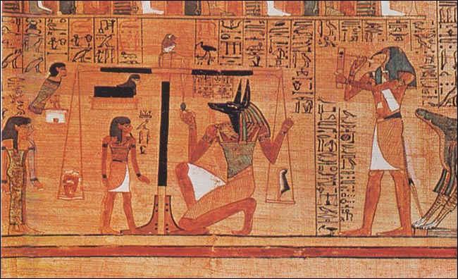 L'un des supports favoris des Egyptiens était le papy russe.