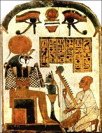 Les artistes peignaient surtout pour le pharaon et les prêtres.
