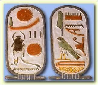 Les sujets des oeuvres égyptiennes sont le plus souvent des animaux.