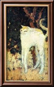 """Qui a peint """"Le chat blanc"""" ?"""