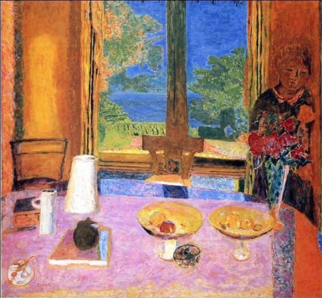 Retrouvez le nom des tableaux de Pierre Bonnard. - (1)