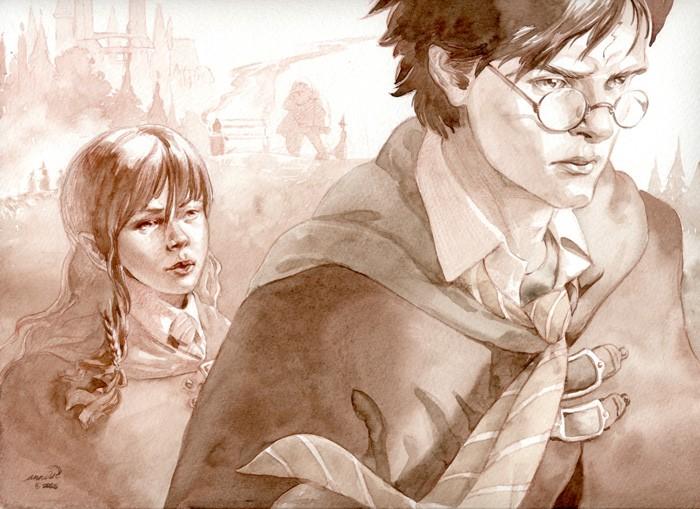 Qui es-tu dans les personnages que j'ai inventés sur HP ?