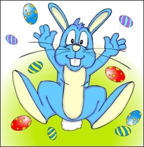 Qu'offre-t-on généralement à Pâques ?
