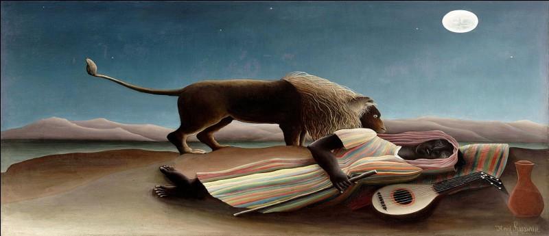 De quel artiste, représentant majeur de l'art naïf, est ce tableau ?