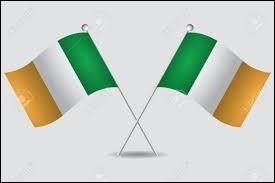 Les drapeaux de la Côte d'Ivoire et de l'Irlande portent des couleurs presque identiques mais inversées.