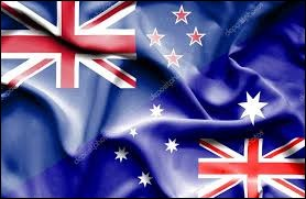 Les drapeaux de la Nouvelle-Zélande et de l'Australie sont identiques.