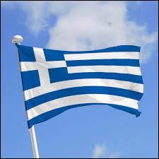 Le drapeau de la Grèce remonte à plus de 1000 ans avant Jésus-Christ.