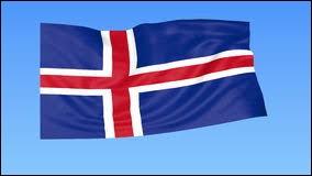 Sur le drapeau de l'Islande, le rouge représente le sang versé pour l'indépendance.
