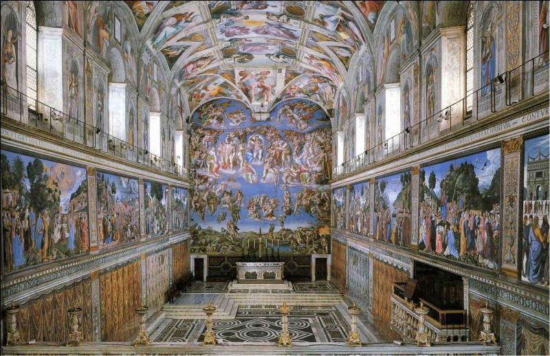 A-t-il fait des fresques dans la Chapelle Sixtine ?