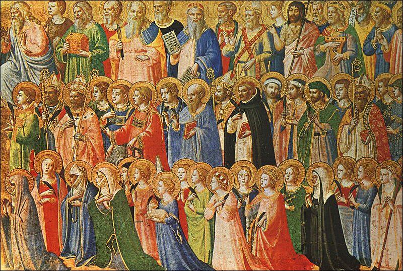 """Chaque 1er novembre, l'Église honore tous les saints, connus ou inconnus.Ne pas confondre la Toussaint et la """"commémoration des fidèles défunts"""". Quand les chrétiens fêtent-ils les morts ?"""