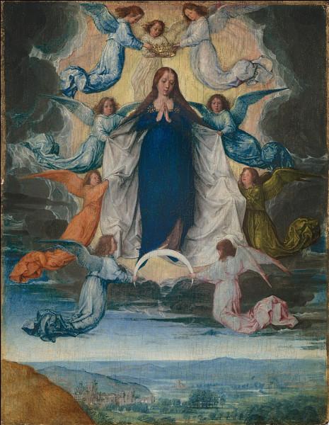 Le 15 août, les catholiques célèbrent la montée de Marie au ciel. C'est :