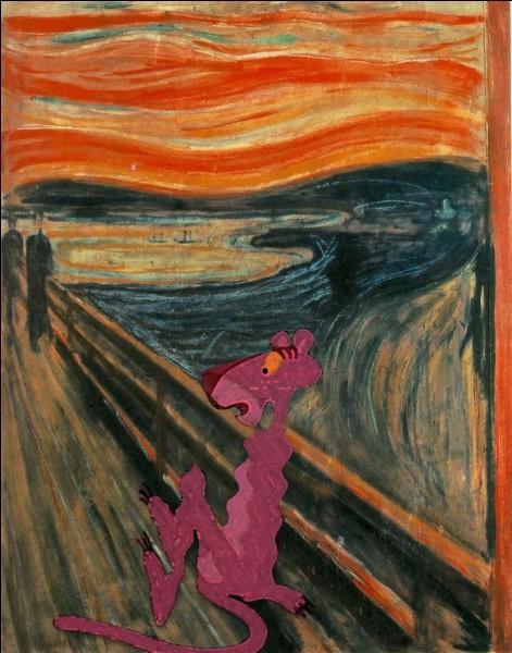 Dans quel tableau la Panthère rose s'est-elle introduite !?