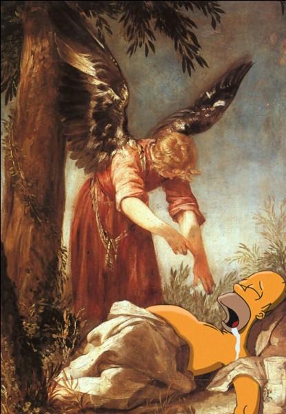 """De quel prophète majeur des religions monothéistes héritées d'Abraham, Homer Simpson"""" usurpe-t-il la place ?!"""