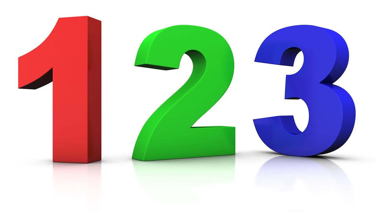 Les nombres de 1 à 10 en espagnol