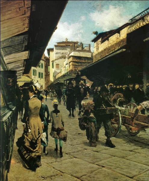 Le corridor de Vasari surplombe une des deux rangées de boutiques du Ponte Vecchio et permettait aux Médicis de rejoindre le Palazzo Vecchio et les Offices depuis...