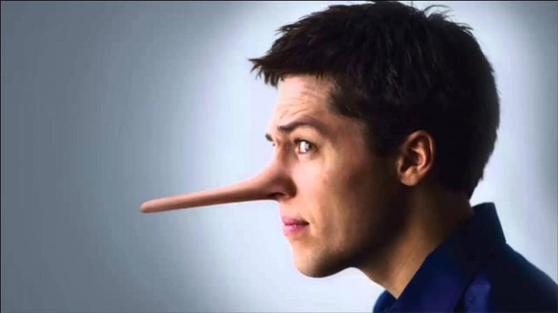 Lorsque l'on ment, que raconte-t-on ?