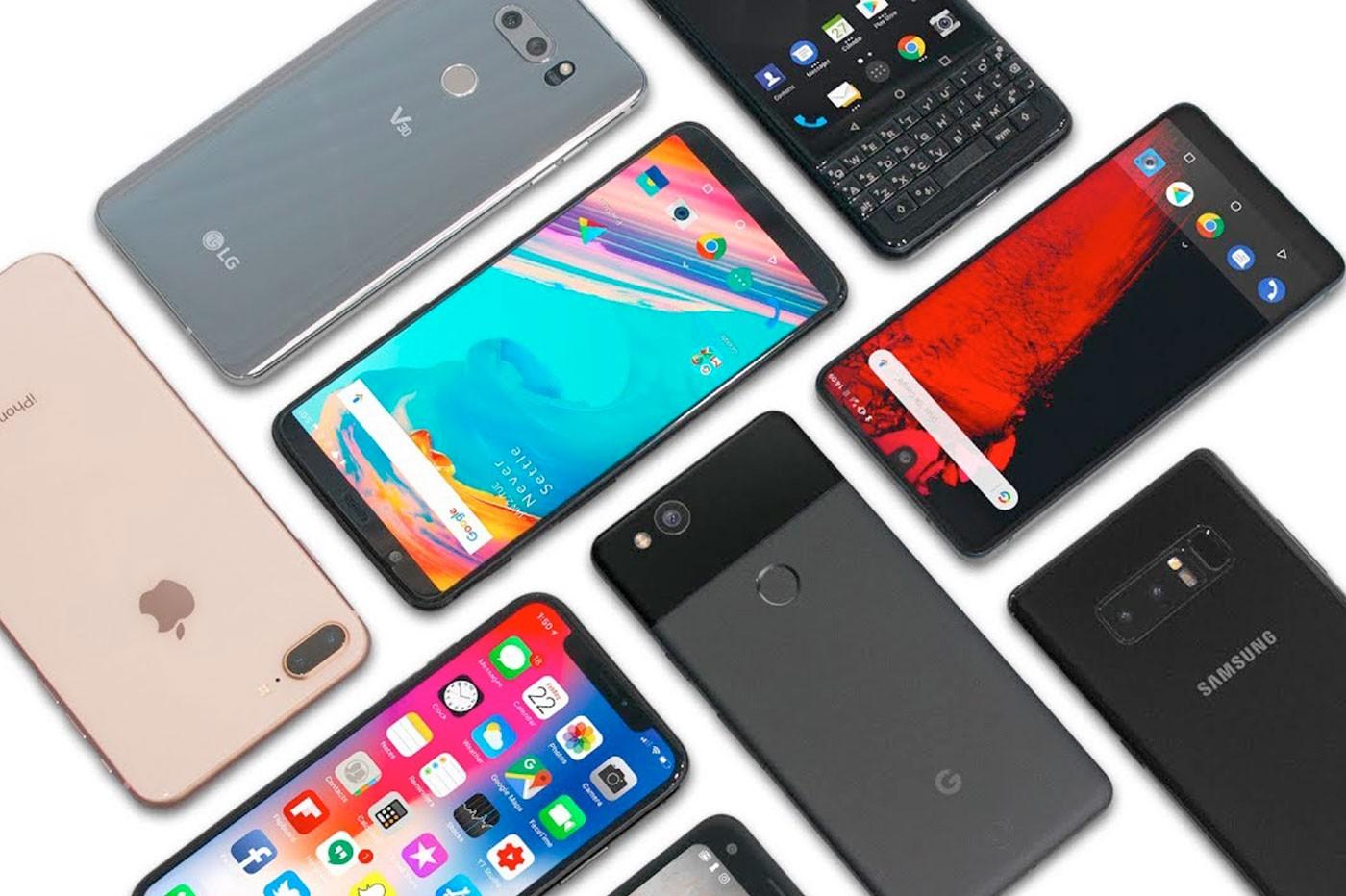 Logos de smartphones