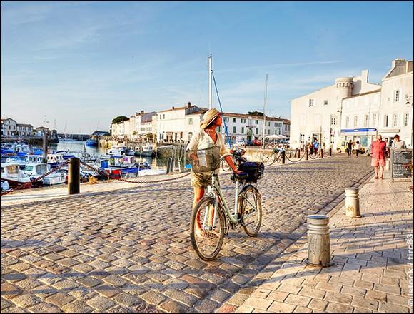 En face de La Rochelle, on trouve cette petite île au climat doux, un véritable joyau : j'ai opté pour son ensoleillement annuel, ses plages de sable fin et ses paysages naturels.Autre aspect intéressant, pour y faire une belle randonnée, optez pour le vélo et profiter des 100 km de pistes cyclables : vous pourrez visiter ses 10 villages atypiques et ses paysages variés.Quelle est cette île ?