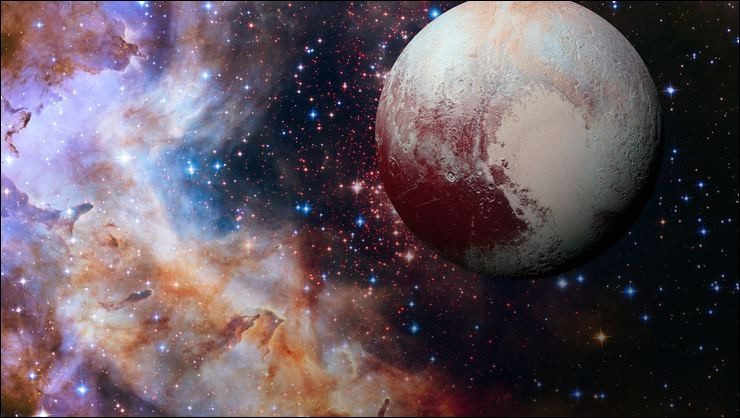 Cette planète est devenue naine pourtant sa taille n'a pas changé. C'est...