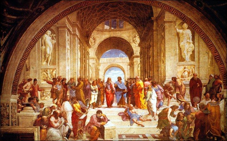 Cette fresque, peinte par Raphaël, s'appelle ...