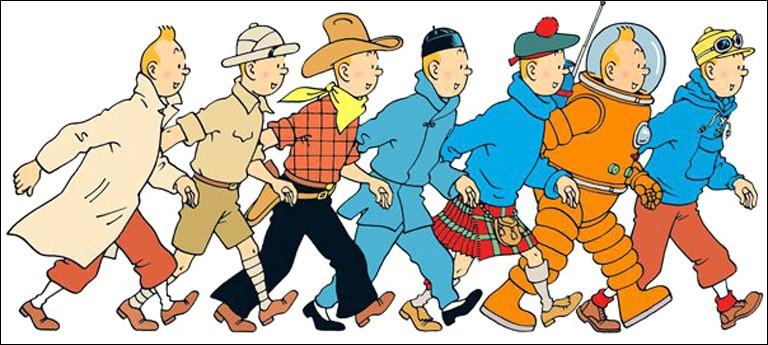 Parmi ces aventures de Tintin, laquelle n'existe pas ?