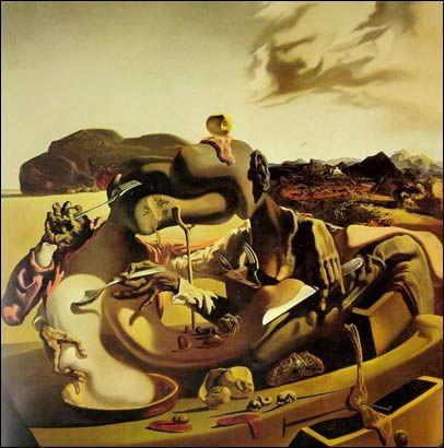 """Qui a peint """"Cannibalisme de l'automne"""" ?"""