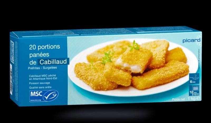Un poisson pané surgelé est un produit ...