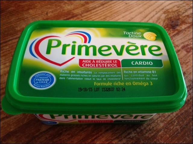 La margarine type Primevère est un produit ...