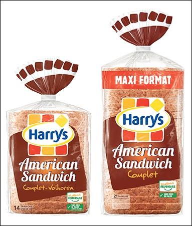 Le pain de mie Harry's est un produit ...