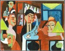 """Qui a peint """"Café à Davos"""" ?"""