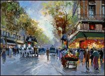 """Qui a peint """"Café de la paix"""" ?"""
