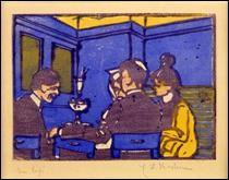 """Qui a peint """"Le café"""" ?"""
