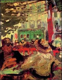 """Qui a peint """"Terrasse d'un café"""" ?"""
