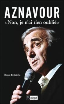 Si Charles Aznavour chante ''Non, je n'ai rien oublié'' , on peut dire qu'il n'est pas touché par la maladie --------------.