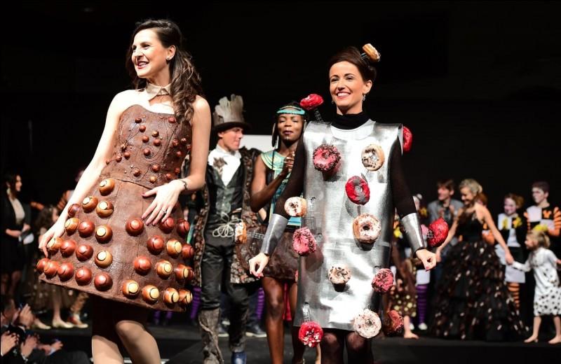 Qu'y a-t-il de particulier au Salon du chocolat ?