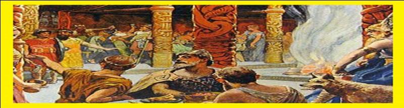 Mazda, le Bien, s'oppose à Angra Mainyu, le Mal. Voilà ce qui peut caractériser la mythologie des peuples occupant un grand territoire s'étendant jusqu'aux zones de l'Asie centrale et vers la mer Noire. De qui parlons-nous ?