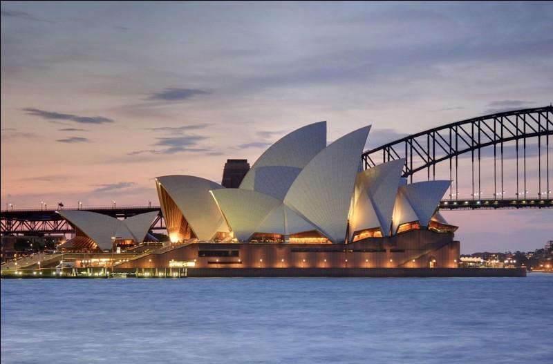 Dans quelle pays se trouve l'opéra Sydney ?